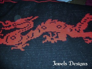 JEWELS DESIGNS ORIGINAL HAND CROCHETED WORK OF ART.
