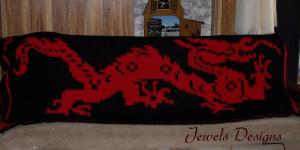 Chinese Dragon Blanket 2